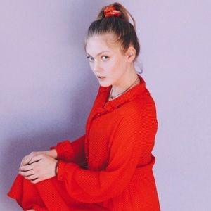 Vintage Red & White Polka Dot Dress